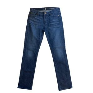 7 for All Mankind Straight Leg Jeans Size 30!
